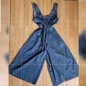 Vintage Chambray Jumpsuit